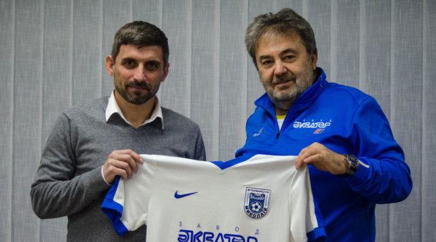 Рекордсмен чемпіонату України став головним тренером відомої команди