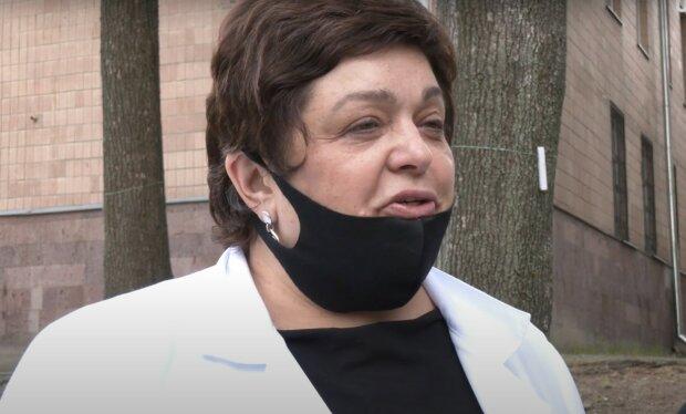 Ірина Пирогова, скріншот з відео
