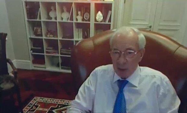 Николай Азаров, скриншот с видео