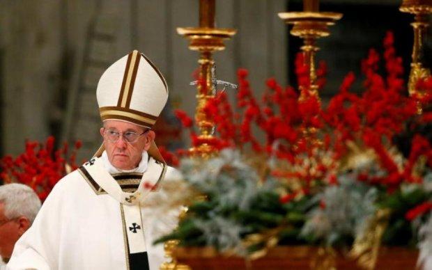 Папа Римский признался украинцам кое в чем