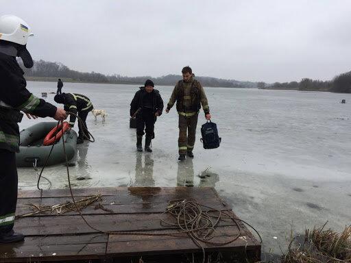 Под Львовом веселая компания рыбаков ушла под лед, выжили не все - детали ледяной трагедии