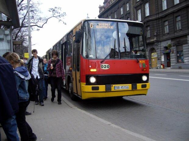 Міський автобус в Польщі, фото:drive2
