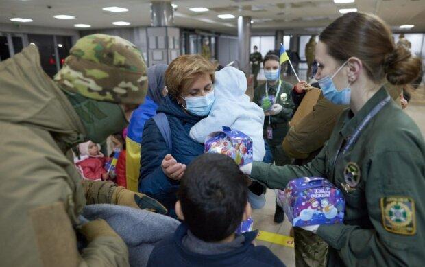 Украинки вернулись из Сирии, Сайт президента Украины