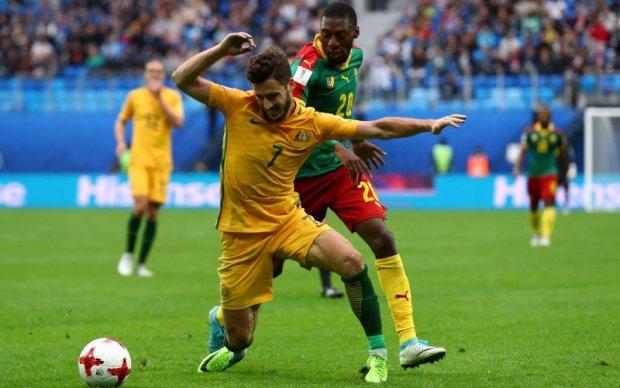Кубок конфедерацій: Камерун та Австралія розписали мирову