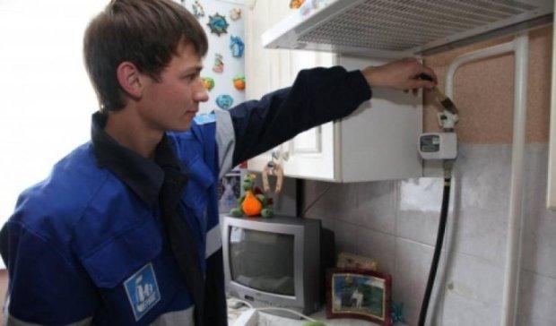 До 2016 року всім українцям поставлять газові лічильники