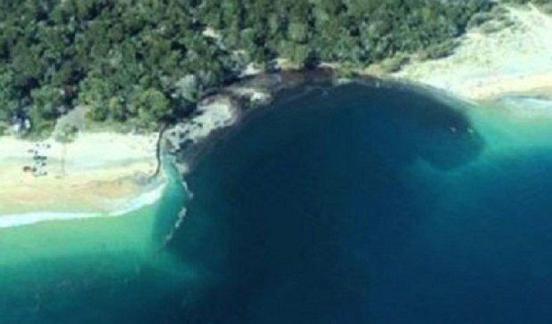 В Австралии в пропасть упал пляж  с кемпингом