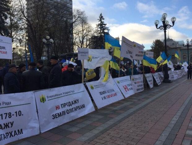Акция протеста в Киеве, фото: Громадське