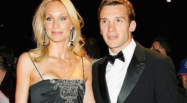 Андрей Шевченко с супругой. Фото: Факты.