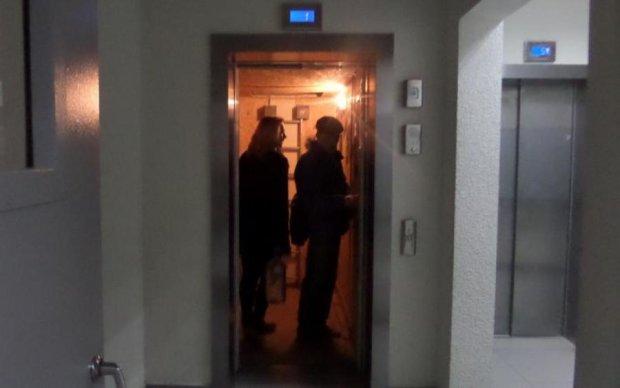 В Киеве появился лифт в ад