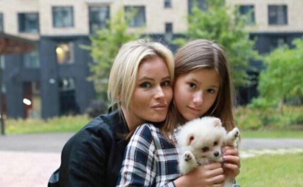 Дана Борисова з донькою, фото: Instagram