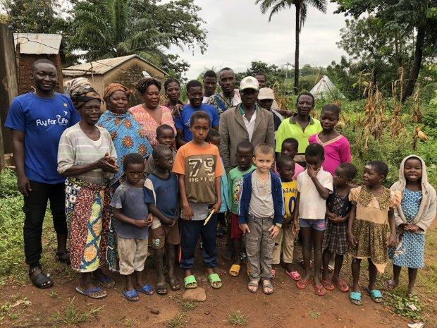 Шестилетний украинец пришёл на помощь африканским детям