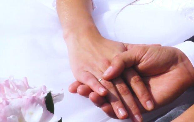 Реєстрація шлюбу кадр з відео