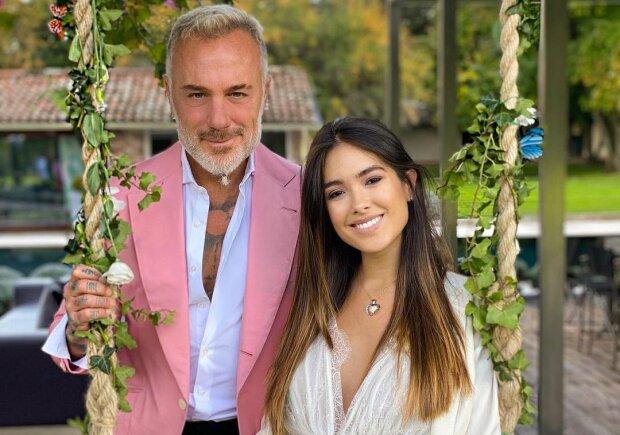 Джанлука Вакки с женой, фото Instagram