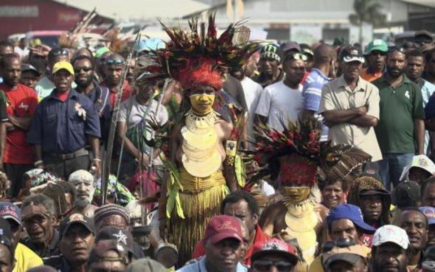 Веселые выборы в Папуа: каннибалы съели семерых черных магов