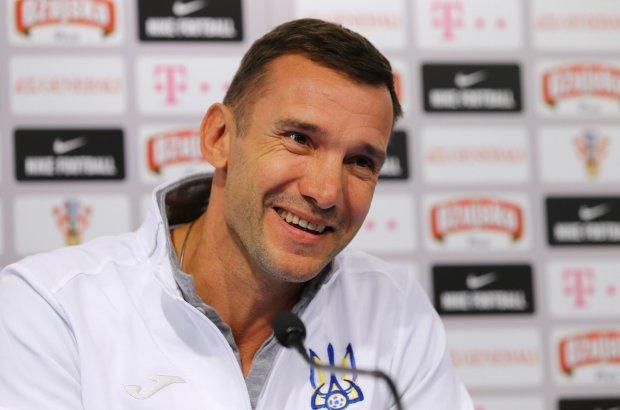 Шевченко перед важными матчами сделал замены в составе сборной Украины
