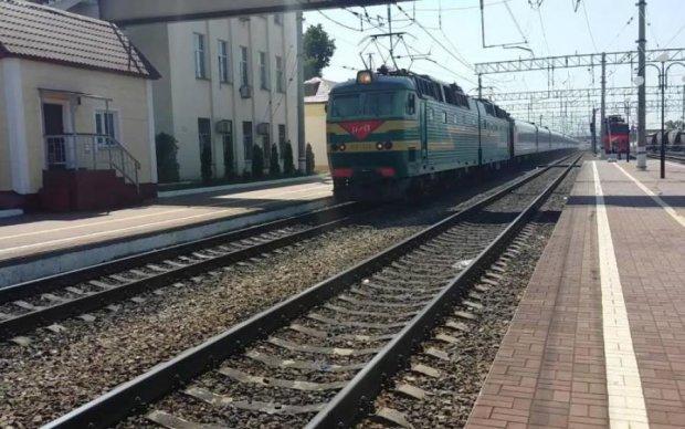 Терористи відправили в Росію замінований поїзд