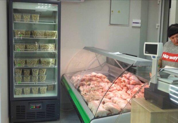 Мясной магазин / скриншот из видео