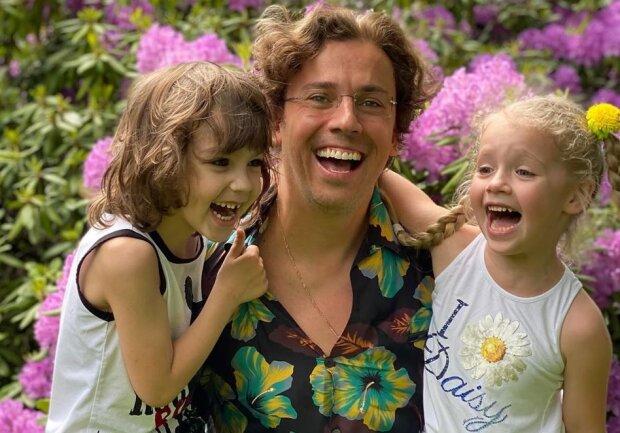Максим Галкін з дітьми, фото - https://www.instagram.com/maxgalkinru/