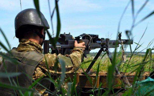Поведение боевиков насторожило украинских воинов