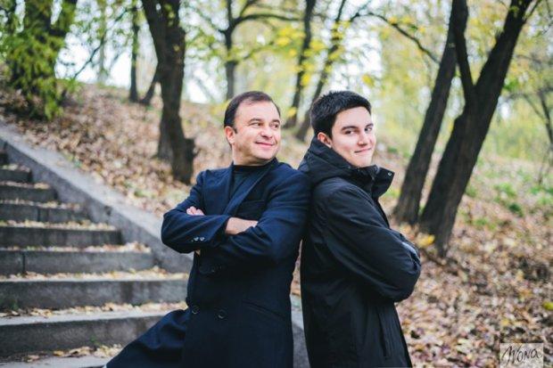Віктор Павлік з сином