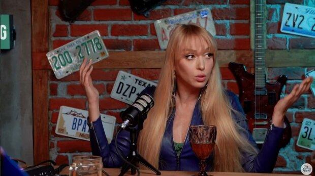 Оля Полякова, скріншот з відео