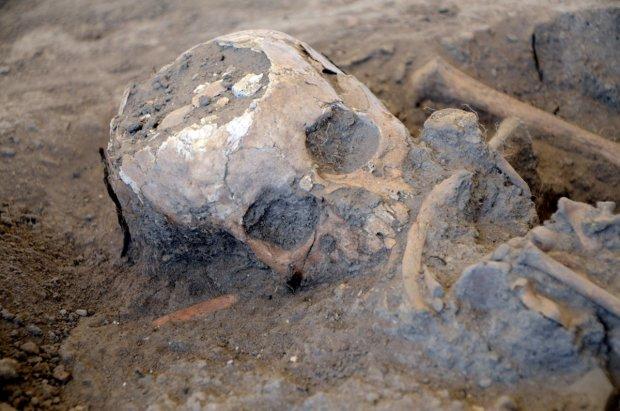 Украинские археологи нашли 2000-летнего варвара
