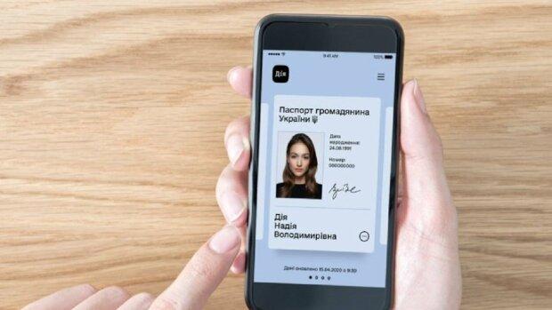 Паспорт в смартфоні, фото Міністерство цифрової трансформації