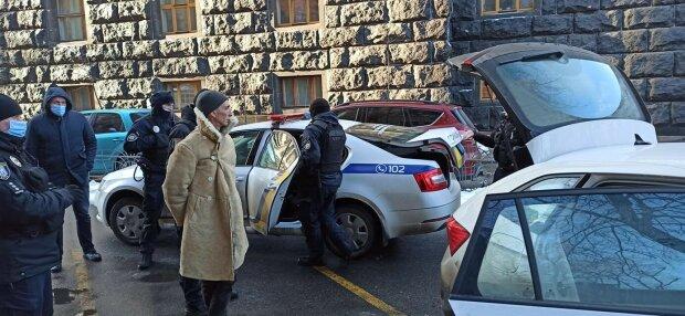 Мужчина с оружием под ВР, фото: Facebook