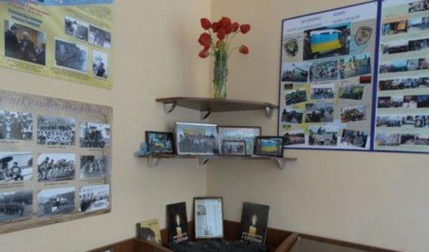 """У Сумах відкрили музей героїчно загиблого в АТО офіцера  """"Альфи"""""""