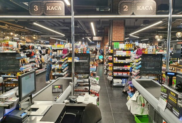 """Супермаркет """"Фора"""", фото: Вечірній Київ"""