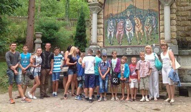 Діти тернопільських учасників АТО відпочивають в Сербії (фото)