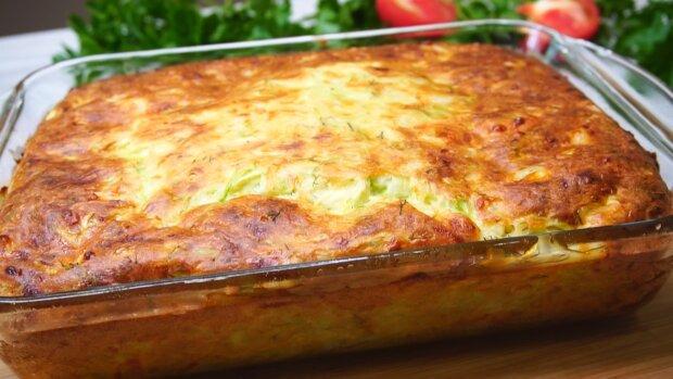 Запеканка из кабачков, фото Cookpad
