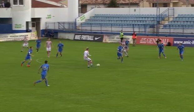 Женский футбол, скриншот: YouTube
