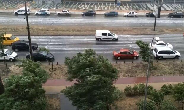 погода в Киеве, скриншот из видео
