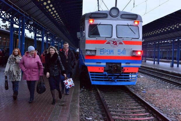Потяг, фото з вільних джерел