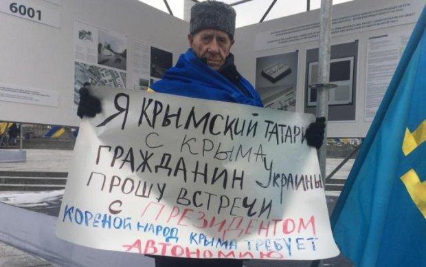 Решта бояться: кримський татарин нагадав Порошенку про його обіцянки