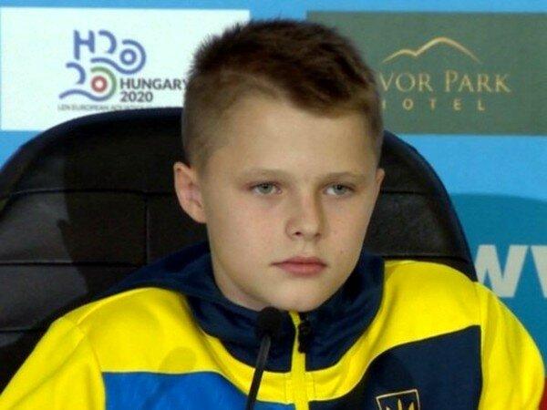 13-летний украинец стал чемпионом Европы по прыжкам в воду: самый молодой за всю историю соревнований