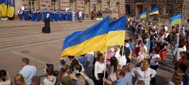 Поздравления с Днем флага Украины 2020: открытки, скрин - YouTube