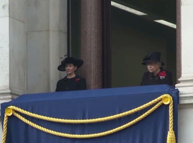 Королева Елизавета II, скриншот видео