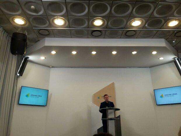 Ігор Кузін на прес-конференції, фото Знай.uа