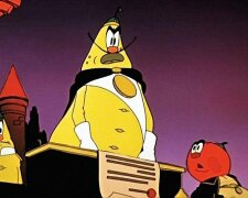 Чиполлино, кадр из мультфильму