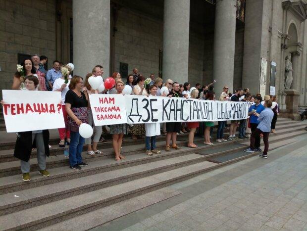 протести в Білорусі, фото з вільних джеоел
