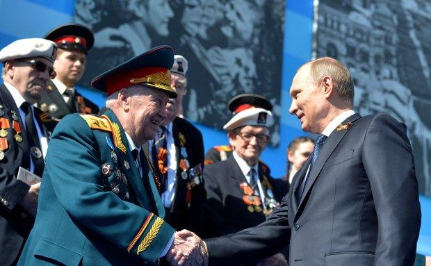 Володимир Путін з ветеранами
