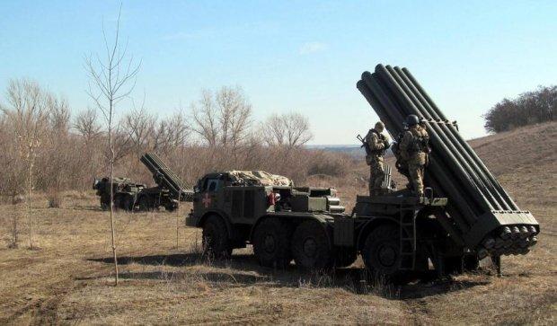 "Українська армія перекинула ""Урагани"" в зону АТО"