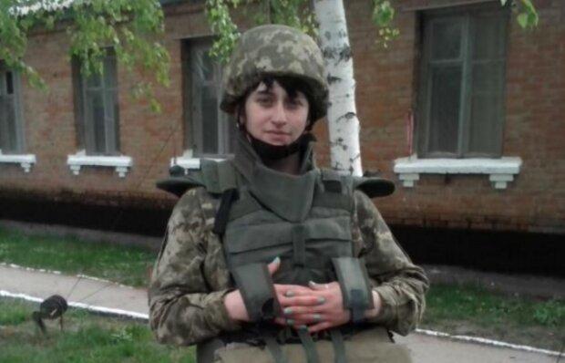 Жінка із Закарпаття добровільно пішла в АТО, фото: Facebook