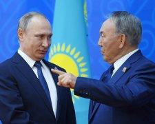 Назарбаєв і Путін