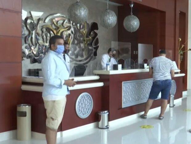 Готель в Єгипті, скріншот відео