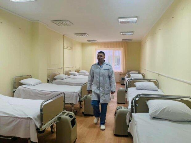 Во Львове открыли новое отделение для больных коронавирусом, места хватит всем