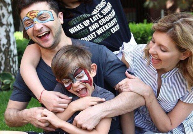 Владимир Зеленский с семьей, фото: Instagram