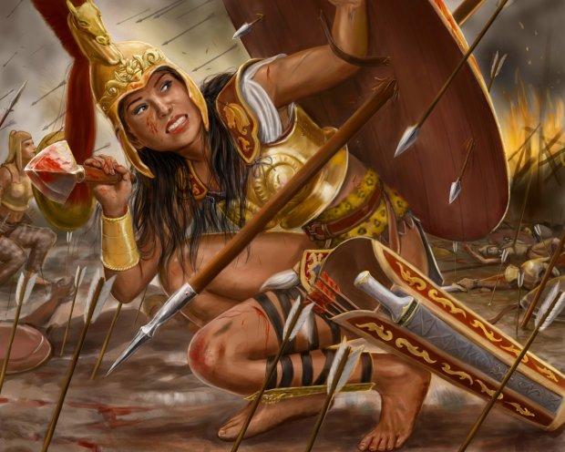 Не уступали мужчинам: история храбрости и ярости персидских амазонок